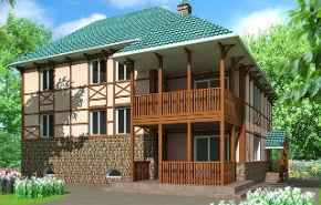 3D модель здания