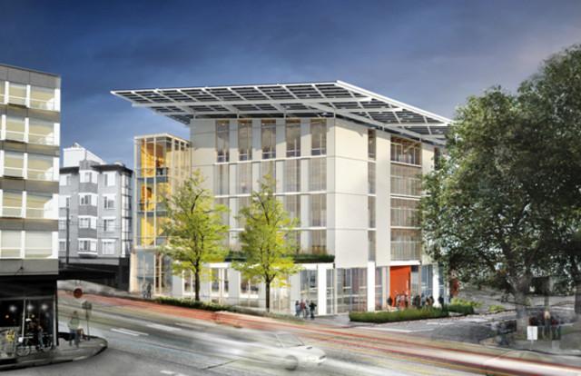 энергосберегающее здание