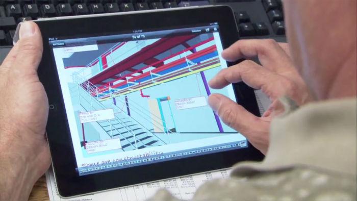 3D на планшете