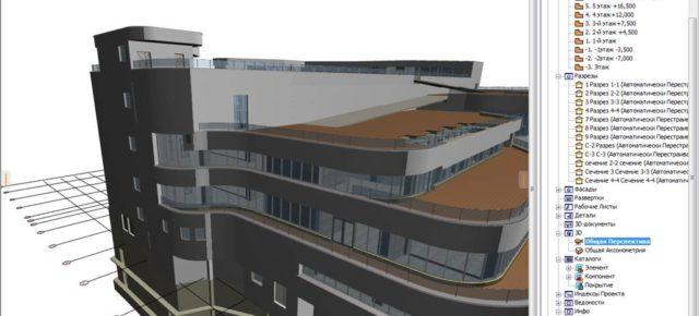 Динамический энергопаспорт для здания аквапарка